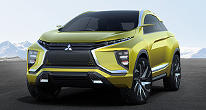 Mitsubishi  Size matters: The eX concept from last year's Tokyo motor show is likely to be the basis for the next-generation ASX, which will shrink in size compared with the current model.