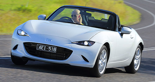 Mazda MX-5 Early days: The MX-5 has only been on sale in Australia since August last year so special editions are likely to be a while away.