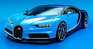 Bugatti 2017 Chiron Power plus: Bugatti's new king of the mountain, the Chiron, has a drift mode for billionaire hoons.