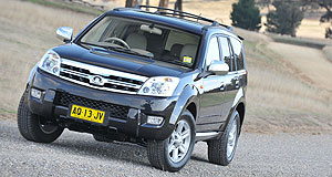 Great Wall 2009 X240 Another first: The Great Wall X240 will be the first Chinese-built SUV to arrive in Australian showrooms.