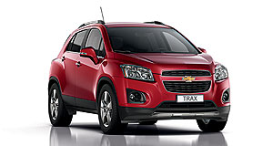 Holden 2013 Trax Making Trax: The Chevrolet Trax will go in sale in Australia under Holden badges in mid-2013.