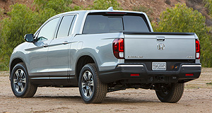 Honda 2016 Ridgeline Left out: Honda's new-gen Ridgeline will not make it Down Under due to left-hand-drive production only.
