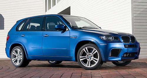 BMW  Among the affected: The BMW Australia recall includes high-end vehicles such as the X6 M (left) and X5 M (pictured below).