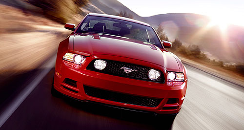 Ford 2015 Mustang Giddy up: The famous American pony car, the Mustang, is an almost certain starter in Australia from about 2015.