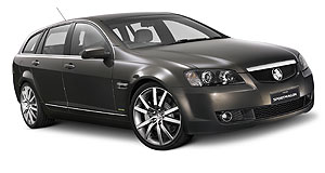 Holden 2008 Commodore VE SportwagonStationary wagon: US export prospects for the VE Commodore Sportwagon have all but disappeared.