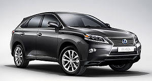 Lexus 2012 RX Tweaked: The new grille design brings the facelifted Lexus RX into line with the brand's newer product.