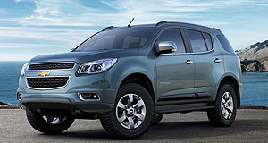 Holden 2013 Colorado 7 Power of seven: The Holden Colorado 7 will debut Down Under at the Sydney motor show in October before going on sale several months later.