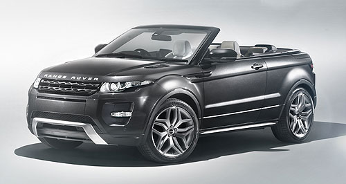 Land Rover 2012 Range Rover Evoque CabrioletRaising the roof: Although presented as a concept, a decision could be made within weeks to put the Evoque convertible into production.