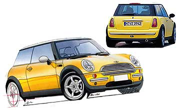 2002 Mini Cooper 3-dr hatch Car Review