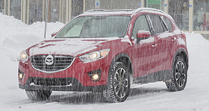 Mazda  Cold as ice:Mazda's predictive i-Activ all-wheel drive tech is available in different forms on the CX-3, CX-5 and the imminent new CX-9.