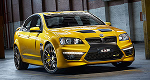 Holden  Happy anniversary: HSV limited edition 25th Anniversary GTS will no doubt be a crowd pleaser at this years show.
