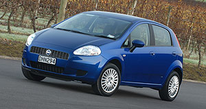 On the Punto: Fiat has tipped that European sales will not recover for at least two years.