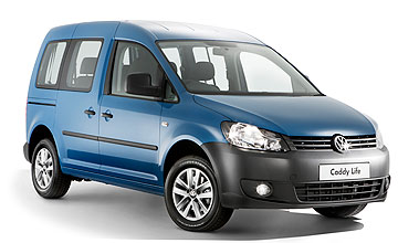 2010 Volkswagen Caddy Life TDI 250 people-mover Car Review
