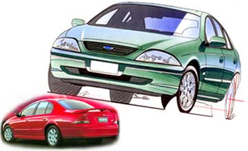 2001 Ford Falcon SR sedan Car Review
