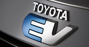 Toyota 2012 RAV4 EVTesla-powered: Toyota's first modern EV for the US will be revealed within a week.