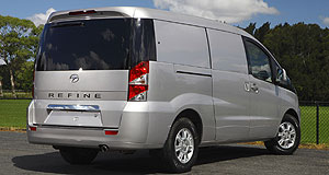 JAC 2012 Refine So Refined: JAC's Refine is one of two vans to be offered by the Chinese vehicle-maker in Australia.