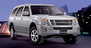 Isuzu 2015 MU-7 Thai'd down: The current MU-7 is sold almost exclusively in Thailand, and Australia decided to wait for the new-generation version for its vital second local model.
