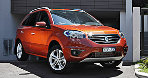 Renault Koleos 5-dr wagon rangeHigh hopes: Renault Australia expects the revised Koleos will be a stronger seller than the outgoing model.