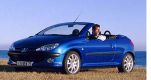 "Peugeot  Pugnacious: A Peugeot Australia spokesman said the 206 Coupe Cabriolet was a car ""we'd love to have""."