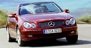 Mercedes-Benz CLK-class CLK 200KStart saving: Equipment levels remain; only the engine gets smaller.