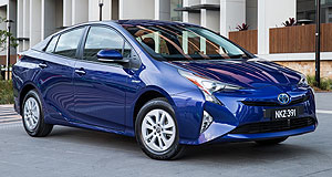 Toyota Prius Hybrid hero: Toyota says its Prius will remain a core model in its long-term plan to introduce more zero-emissions models.