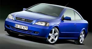 HSV 2006 Astra VXR Off the agenda: HSV  is considering options other than the four-cylinder Astra Coupe.