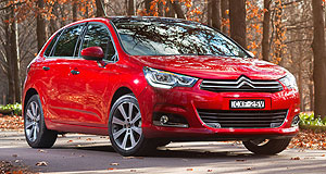 Citroen C4 Under the C: Citroen only launched the facelifted C4 in August last year, but its future in Australia is now uncertain.