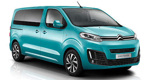 Citroen 2017 Spacetourer French flair: Peugeot's version of the van trio is called the Traveller and it might end up in Australian showrooms.