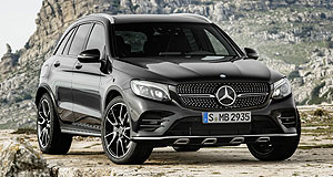 Mercedes-AMG 2016 GLC43 Power pick: A new AMG GLC43 adds a hot six-cylinder to the four-pot GLC range, but there is no word yet on the V8.