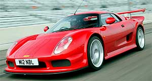 Noble M12 GTO-R3 Spirited: The Noble M12 offers supercar performance from its turbocharged V6 engine.