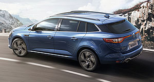 Renault 2016 Megane Sport TourerGet a load: Renault's Megane Estate GT is expected to get the same 151kW 1.6-litre turbo engine as the Megane GT hatch.