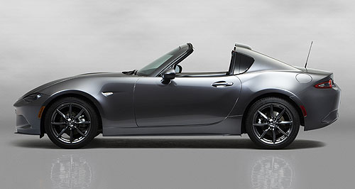 Mazda MX-5 RFNatural only: Mazda will not add turbocharging to its MX-5 soft-top or RF, preferring to emphasise the purity of naturally aspirated engines.
