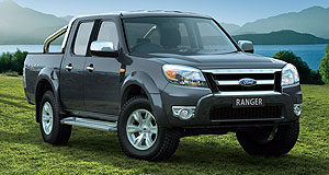 Ford 2011 Ranger True blue: Ford's Ranger ute is set to be replaced next year by an Australian-designed and engineered vehicle, built side-by-side with Mazda's own variant in Thailand.