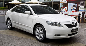 Toyota Camry Upgrade: Although based on the existing Camry Altise, the Touring SE features alloy wheels and a Sportivo grille.