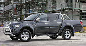 Mitsubishi 2014 Triton Sole effort: Mitsubishi's plans to co-develop the next-generation Triton ute with Nissan appear to have fallen through.