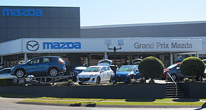 Mazda  Top notch: Queensland's Grand Prix Mazda is one of only two dealers to have achieved 'Master Dealer' status every year since the program started in 1994. Wippells Autos (below) is the other.
