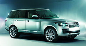 Land Rover 2013 Range Rover Happy New Year: First customer deliveries of the new Range Rover Vogue will arrive Down Under in January 2013.