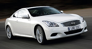 Infiniti  Incoming: The G37 Coupe will be part of the local Infiniti launch in September next year.