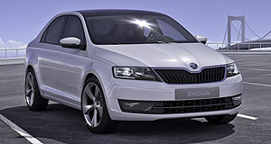 Skoda 2012 Rapid Next step: The all-new small car from Skoda to be previewed by the MissionL concept in Frankfurt is likely to badged 'Rapid' come production time.