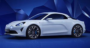Alpine 2017 Vision Mountain high: The Alpine Vision concept is said to represent 80 per cent of the final design of the first Alpine production car in more than two decades.