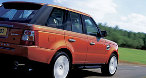 Land Rover Range Rover Sport Range finder: Despite its name, Range Rover Sport is based on Discovery underpinnings.