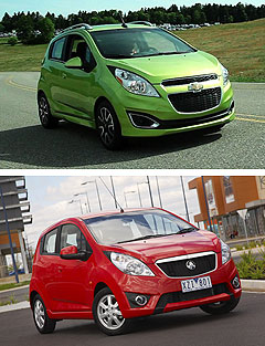 Holden2013 Barina Spark center image