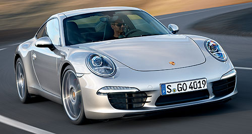 Porsche 911 Carerra SNice number: A weight loss program, more stable body and fresh engines make the new Porsche 911 go even faster.