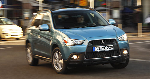 Mitsubishi 2010 ASX Stock marque: Mitsubishi's compact SUV will go by the name of ASX in Australia, instead of the alternative moniker, RVR.