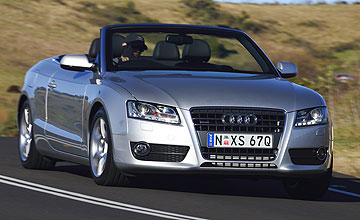 2009 audi a5 2 0 tfsi quattro cabriolet goauto our opinion. Black Bedroom Furniture Sets. Home Design Ideas