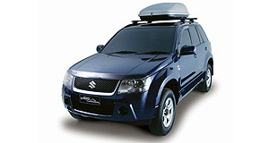 Suzuki Grand Vitara rangeStar Trekker: This limited edition Grand Vitara adds a host of appealing extras for free.