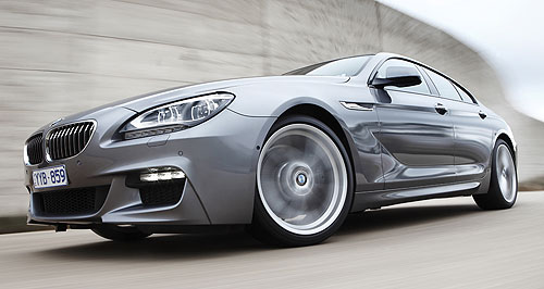 BMW 6 Series Gran CoupeGran designs: BMW has entered the sleek four-door coupe segment with its 6 Series Gran Coupe.