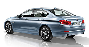 BMW 2012 5 Series ActiveHybridActive Five: BMW's 2010 5 Series ActiveHybrid concept will become reality here by mid-2012.