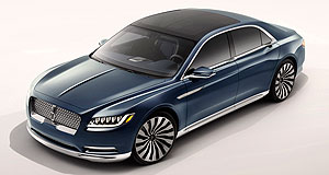 Lincoln 2016 Continental Concept New York Show Lincoln