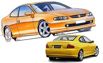 2001 Holden Monaro CV8 coupe Car Review